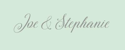 Joe and Steph